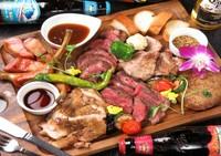 お肉の祭典 肉盛りプレート