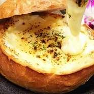 インスタで話題のクリームチャウダが オリジナルチーズソース・クリームチーズ・パルメザンなど チーズの種類も量もパワーアップして登場!