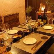 デートに人気のおしゃれなリゾート空間でディナーやランチを♪
