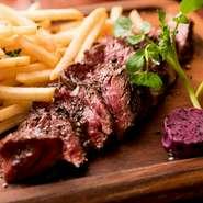定番のハラミステーキを、最高の火入れでご提供! 他では食べれない圧倒的な旨さを是非ご堪能下さい!