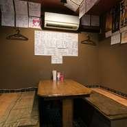 店内スペースが限られているため、大人数でのご来店にはあらかじめお店に連絡しておくことをおすすめします。貸切も可能なので、早目に店舗にご相談してみては。ゆっくりお酒と料理を楽しめる空間です。