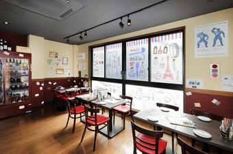 リーズナブルに美味しいフレンチを提供。気軽に使えるお店です
