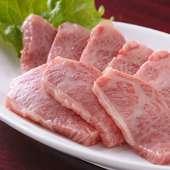 厳選された黒毛和牛を中心に使用。上質なお肉を心ゆくまで満喫
