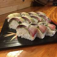 お持ち帰り用『いいわけ寿司(さばの棒寿司)』