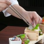 <個人盛>大事なお食事のシーンにご利用いただきたい、贅沢な会席コース※写真はイメージです。