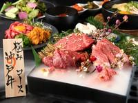 最上級の神戸牛が味わえる豪華コースです! 観光や記念日など大切な宴の席にオススメのコースです!
