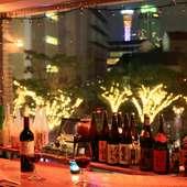 神戸の夜景がロマンチックな雰囲気を演出してくれます