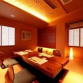 2階にはお座敷とテーブルの個室