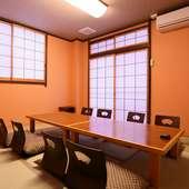 宴会、接待、会食など幅広いシーンで利用できる大人の空間