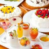「お好きなデザートを3つ」お選びください