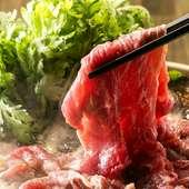 10㎏の塊肉を仕入れて仕込んだこだわりの「A5黒毛和牛」