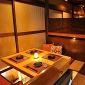 全席個室、プライベートなシーンにもおすすめの隠れ家空間