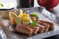 溢れ出る肉汁。上質な和牛のおいしさが堪能できる『信州和牛のステーキ膳』