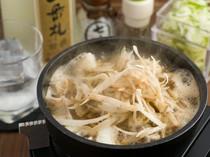 先代から受け継ぐ味をベースにした新感覚の横浜風『モツ鍋』