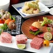 肉料理とはいえ、味だけではなく、見た目にもこだわっております。どの料理も食べるのが惜しいくらい、可愛らしくも鮮やかなものばかりです。