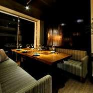 室も完備しております!昼夜どちらにも接待や会食にご利用いただけます。