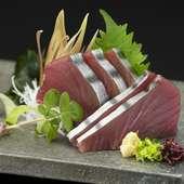 料理長厳選、旬の鮮魚の『お造り』