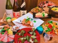 各種ご宴会には四季折々、旬の楽しみをお届けします。