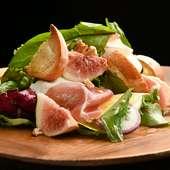 基本的に野菜は京都のものを使用。産地を問わずに美味しいものを