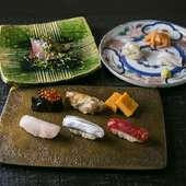寿司ネタは当然のこと調味料もすべて自分の舌で吟味