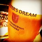 当店自慢の生ビール