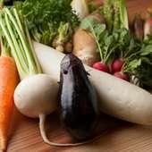 大阪で大切につくられた新鮮な旬野菜たち