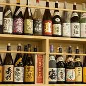 日本酒は甘口、辛口、フルーティーなタイプまでバラエティ豊か