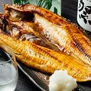 言わずと知れた高級魚。ほどよくのった脂と磯を感じるような塩味。炭火で皮目もパリッと焼いているので、香ばしさも楽しめます。