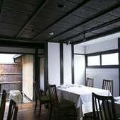1階は12名、2階は予約制の個室。アットホームなひとときを