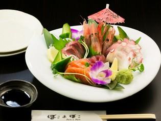 沖縄近海の魚を中心に、その日に仕入れる新鮮な魚介