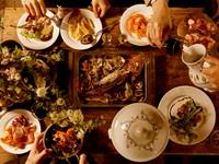 料理もたっぷりの6品、料理の味も見た目も、店内の雰囲気もこだわりたい幹事の方にピッタリなプランです。