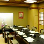 個室完備。極上の北海道料理は接待にも最適です