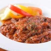 牛ハラミのトマト煮込み