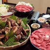 松茸と特選近江牛を、すき焼き『あばれ食い』で味わい尽くす