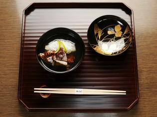 日本料理の花形にして、その店の特長が発揮される『椀物』