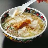 ワンタン麺(塩・正油)