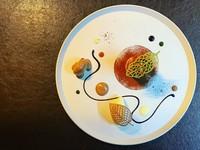 ディナーの食材を使用したランチコースです。