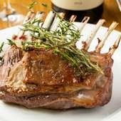 その日入荷の厳選肉を焼き上げる『肉のロースト』