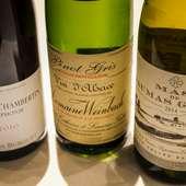 さまざまな要望に対応できる、さすがのワインリスト