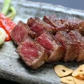 『特選米沢牛サーロインステーキ』は豊かな自然からの贈り物