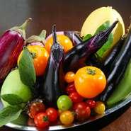 地産地消だからこそ味わえる、新鮮な野菜を使用