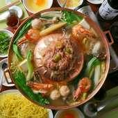 専用鍋を使って2度おいしく味わえる『焼鍋』