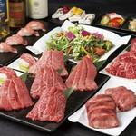 【個室確約】和牛日本一の称号を得た鹿児島産黒毛和牛を使用した記念日コースです。