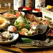 コース料理3500円~ご用意!多彩な宴会プランでおもてなし!