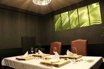 プライベート感ある完全個室 ご接待や、ご家族との会食に