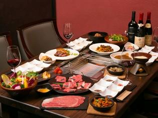 新鮮で深い味わいの「和牛」と、色合いも重視した「野菜」を使用