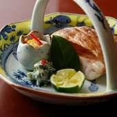 京料理の代表格『ぐじ(甘鯛)』にも、新しい工夫を