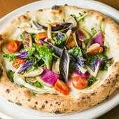 野菜のうまみと生地の絶妙なバランスが絶品『ピッツァ 大和』