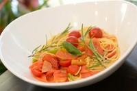 当日に仕入れた旬のオススメ野菜でつくる『季節の野菜パスタ』