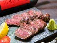 A4-A5等級沖縄県産和牛 イチボ炭火焼き